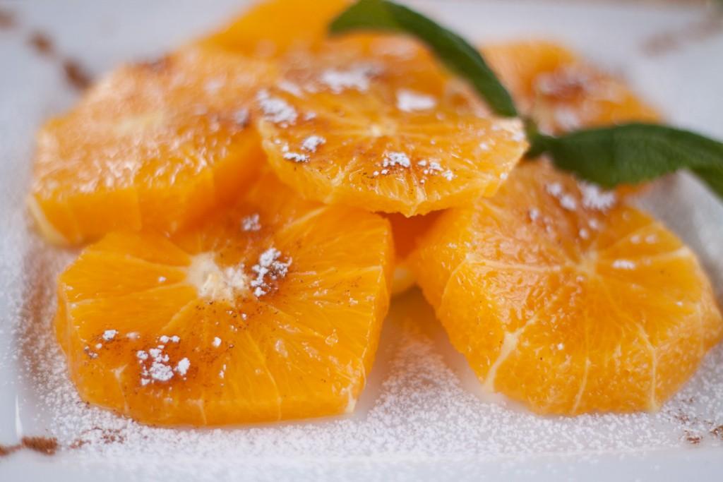 kaneel en sinaasappel