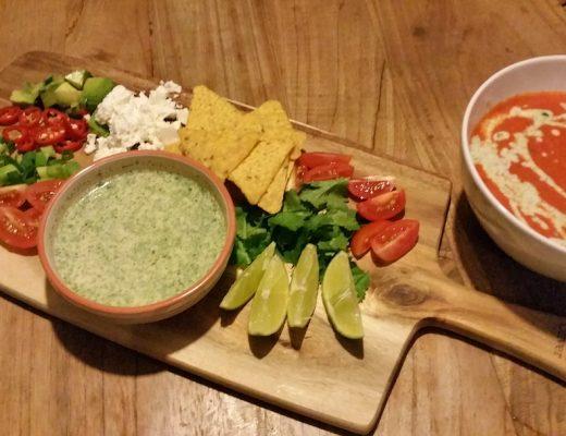 Mexicaanse tomatensoep Jamie Oliver