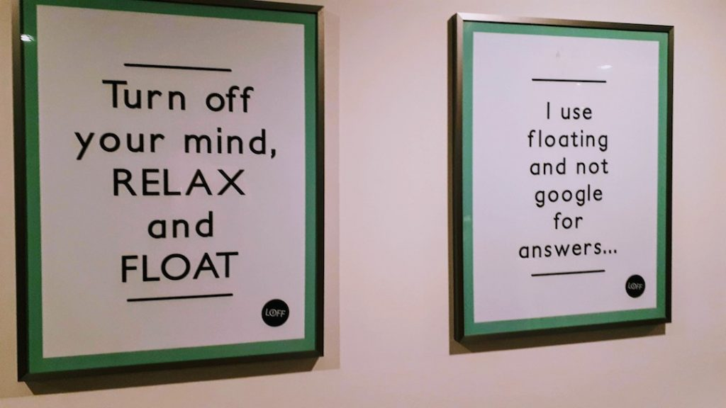 floaten floatsessie offline me time