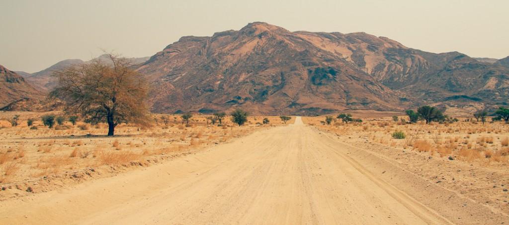 Namibië - Afrika - Brandberg - reisjournaal 2007 - Jannekes wereld - reizen