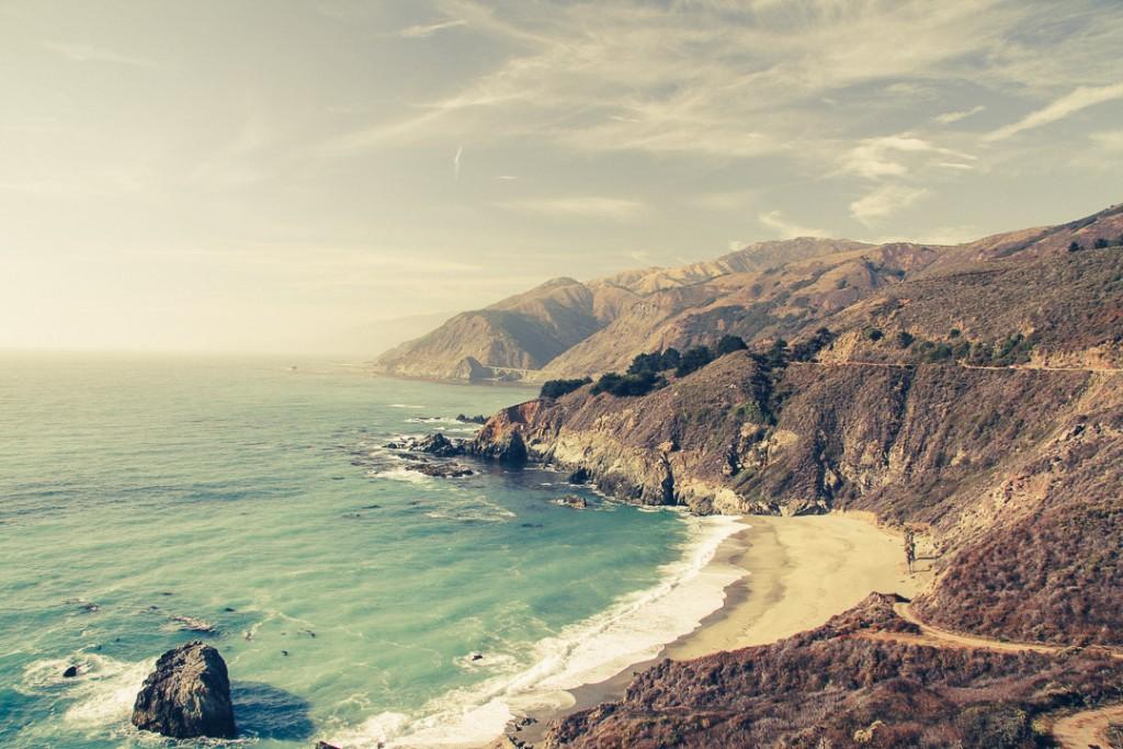 pacific coast drive Amerika