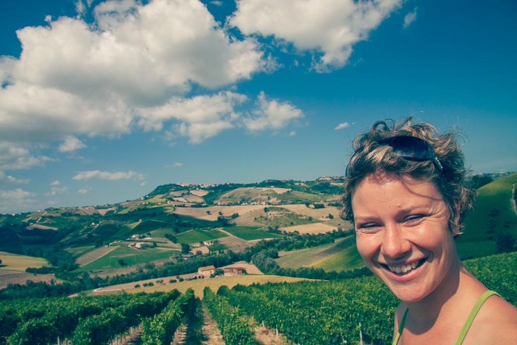 Le Marche monte sibillini Italie