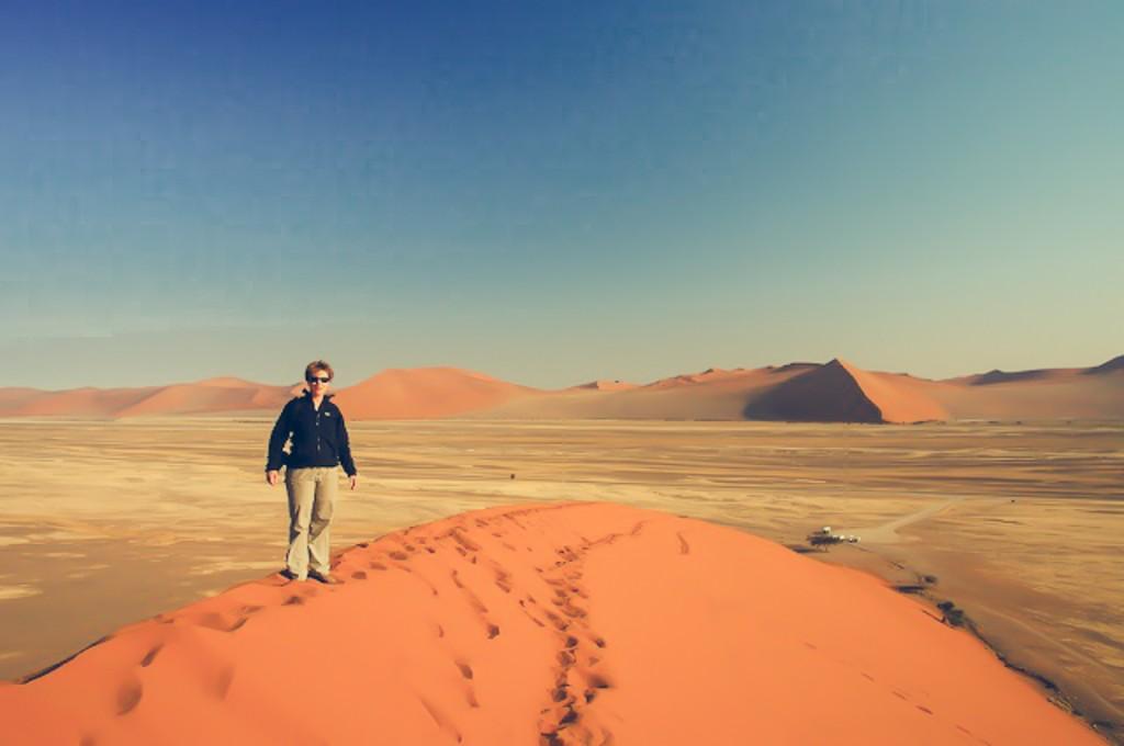 heetste plekken wereld Deadvlei Namibië Namib Desert