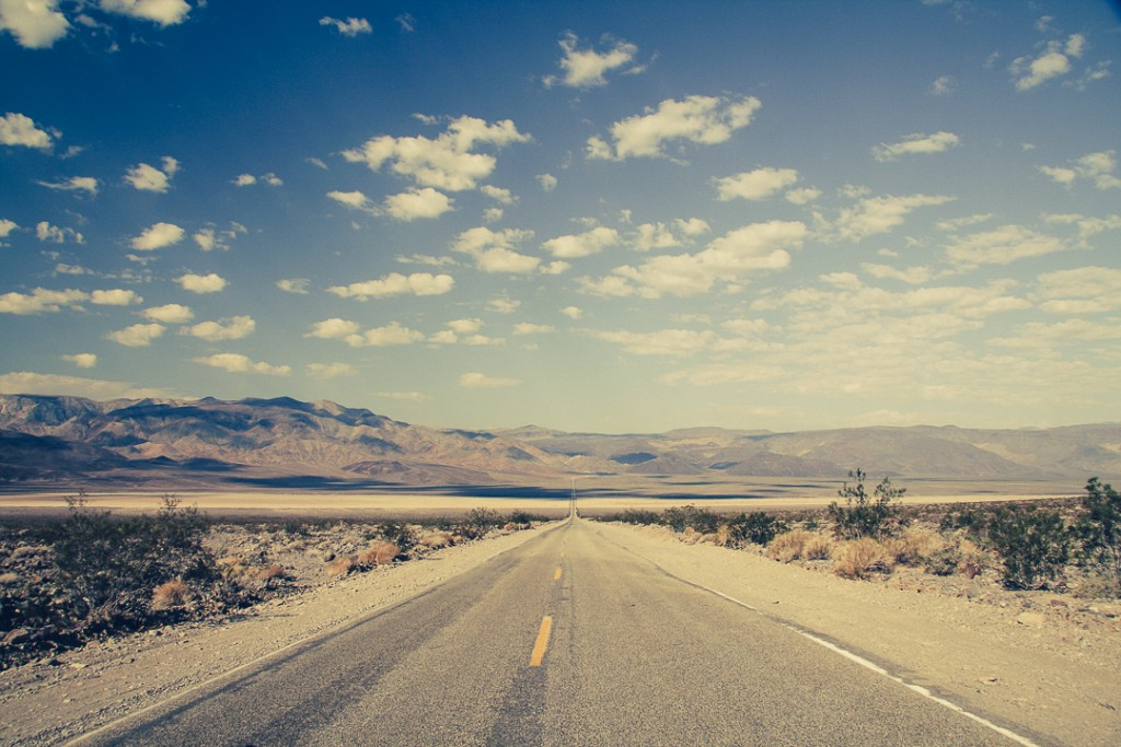 Death Valley Amerika road
