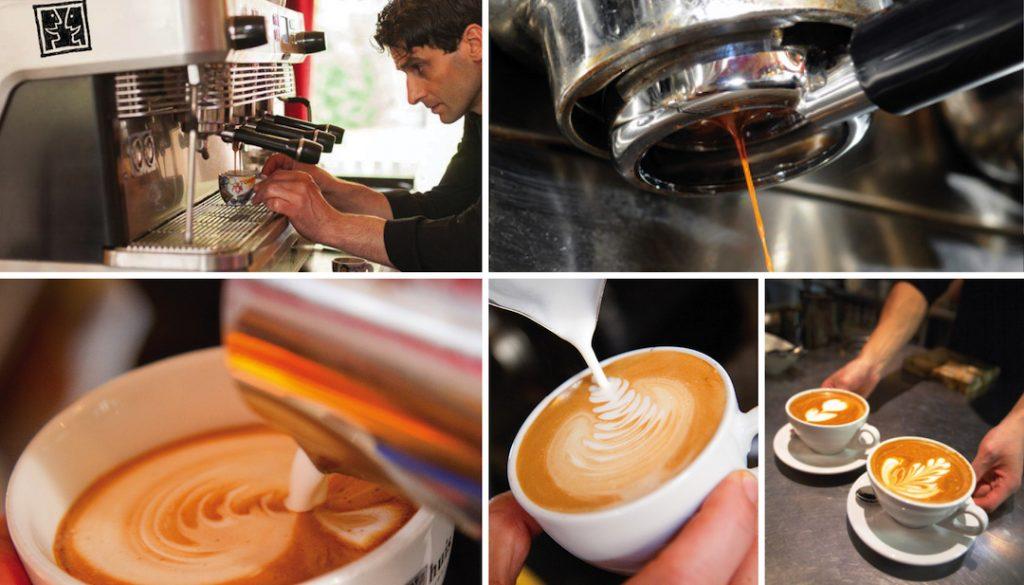 5 x koffie in Groningen - 't feithhuis