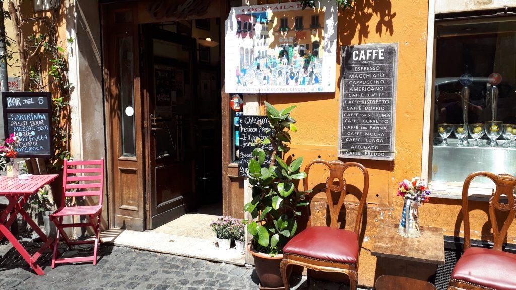 Rome op mijn manier - café - koffie